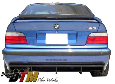 bmw e36 m3 dtm style rear diffuser frp or cfrp