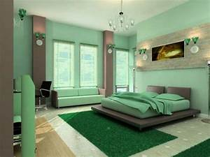 Schlafzimmer In Grün Gestalten : farbideen schlafzimmer einflu reiche farben und dekoration ~ Michelbontemps.com Haus und Dekorationen
