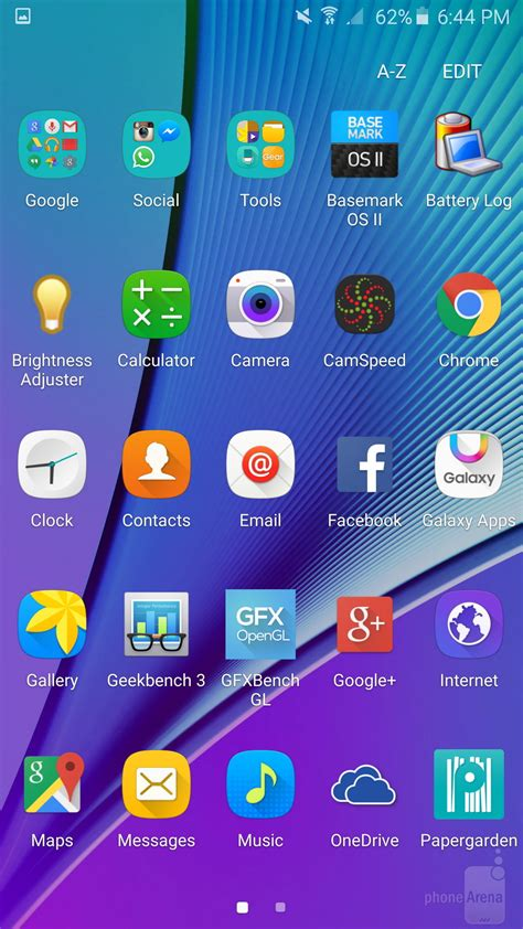 samsung galaxy s6 edge samsung galaxy s6 edge interface and functionality phonearena