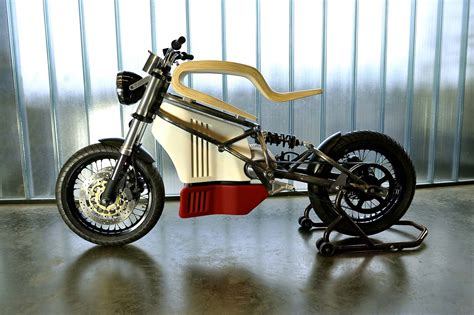 E-raw Electric Motorcycle Concept By Expemotion