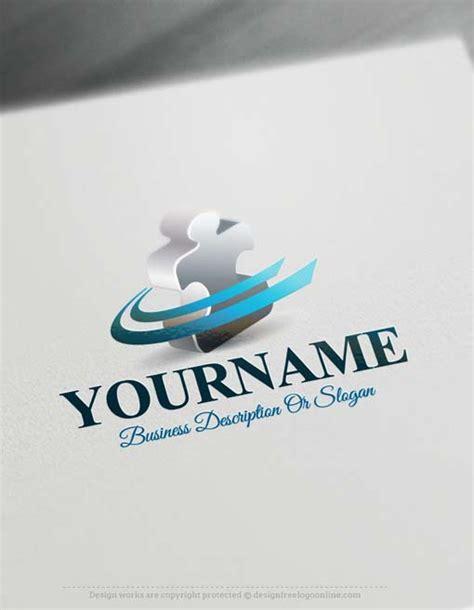 logomaker puzzle logo design