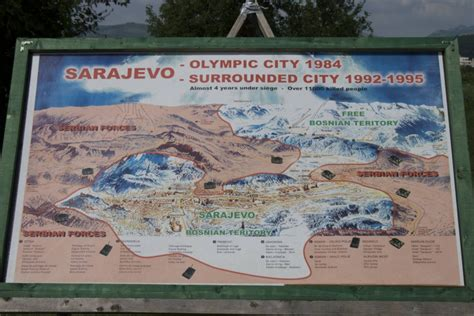 si鑒e de sarajevo le tunnel de sarajevo bosnie