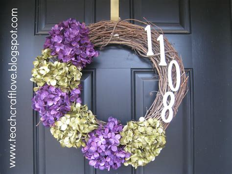diy door wreaths teach craft love front door wreaths