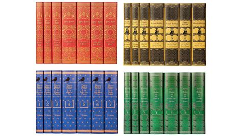 harry potter house colors you can now buy the harry potter books in every house color