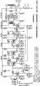 Autovox Rt51 Rt54 Transistor Receiver Sch Service Manual