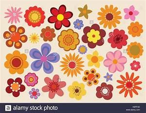 Flower Power Blumen : 70er jahre stockfotos 70er jahre bilder alamy ~ Yasmunasinghe.com Haus und Dekorationen