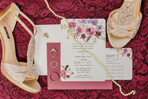 Affordable Wedding Invitations With Response Cards At