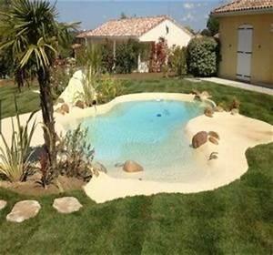 piscine a plage immergee tout savoir pour bien choisir With piscine avec plage immergee