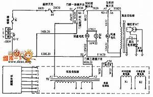 Microwave Circuit Diagram 02 - Electrical Equipment Circuit - Circuit Diagram