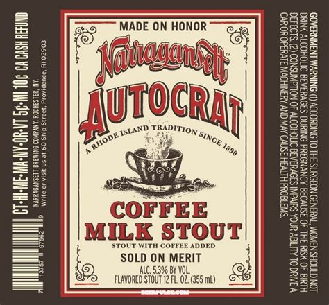 In rhode island, you get the official state drink — coffee milk. 60+ new beers added from Upland, Lagunitas, Ballast Point and more | BeerPulse