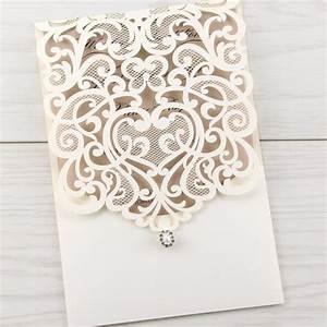 josephine laser cut pure invitation wedding invites With josephine laser cut wedding invitations