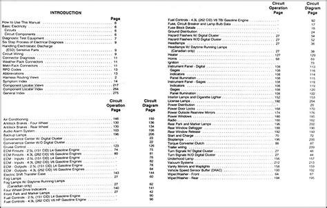 Gmc Jimmy Sonoma Wiring Diagram Manual Original
