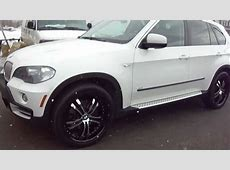 HILLYARD CUSTOM RIM&TIRE 2008 BMW X5 ROLLING ON 22