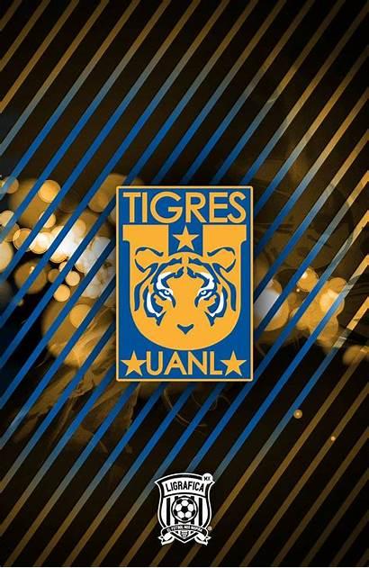 Uanl Tigres Escudo Fondos Futbol Ligraficamx 15ctg