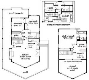 a frame house floor plans a frame house plans gerard 30 288 associated designs