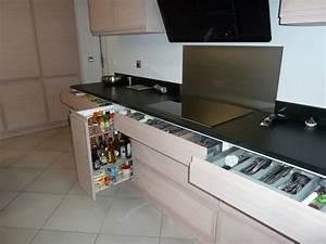 Tiroir Coulissant Cuisine : rangement tiroir cuisine ikea great dcoration rangement ~ Premium-room.com Idées de Décoration