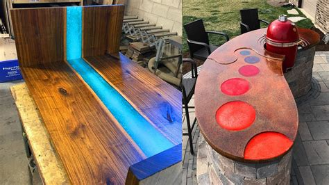 amazing epoxy resin  wooden  home decor