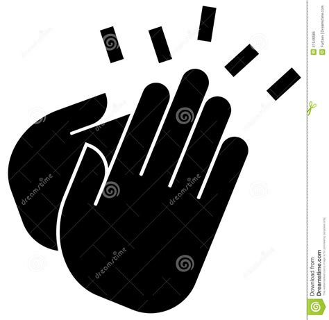 Applause Icon Stock Vector  Image 41546585