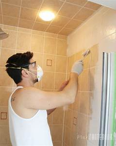 Yes you really can paint tiles rust oleum tile for How to do bathroom tile