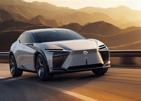 Lexus LF-Z Electrified concept revealed: 400 kW; up to 600 ...