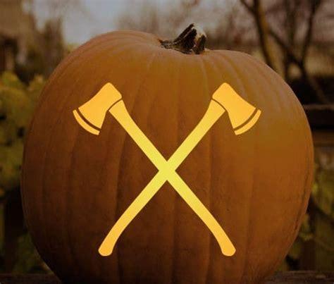 manly halloween pumpkin stencils  art  manliness