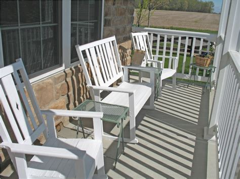 front porch furniture wood outdoor decorations good