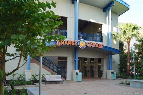 disney springs parking garage photos second disney springs orange parking garage