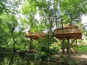 Constructeur Cabane Dans Les Arbres : cabane reli es nidperch constructeur de cabane ~ Dallasstarsshop.com Idées de Décoration