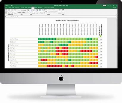 Matrix Skills Template Excel Development Easy Workforce