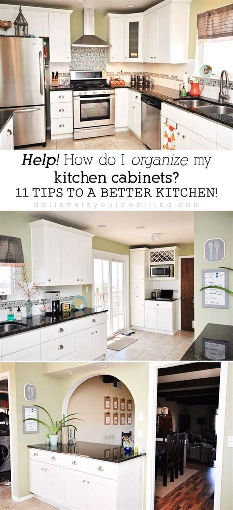 tips for organizing your kitchen best decor hacks 11 tips for organizing your kitchen 8537