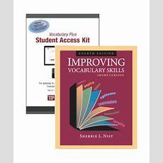 Improving Vocabulary Skills, Short Version, With Vocabulary Plus  Townsend Press