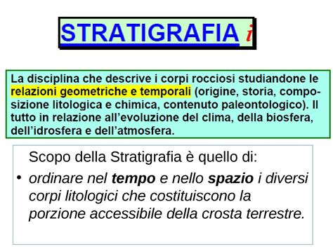 dispense università stratigrafia dispense