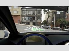Toyota Developing Radical 3D HeadUp Display for