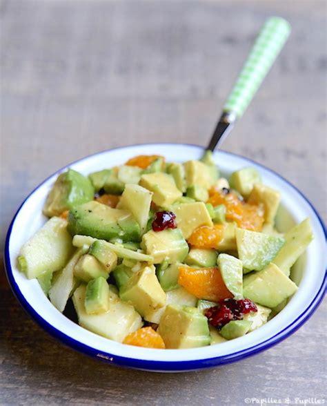 cuisine autrichienne salade d 39 avocats clémentines et pomme verte