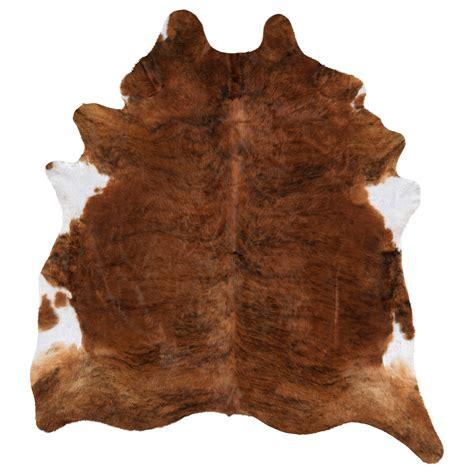 animal hide rugs koldby cow hide brown ikea