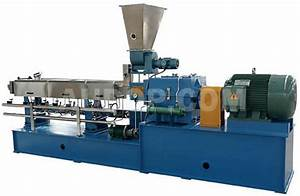 Parallel Twin Screw Extruder, China Co-rotating Twin Screw ...