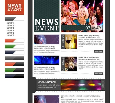 Email Newsletter Templates Hand Picked Premium Designs