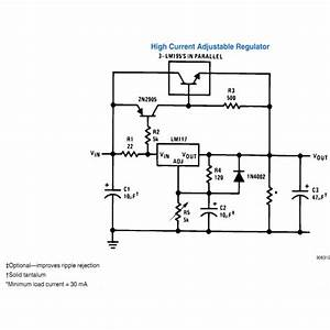 application circuits using lm317 from national With datasheet application note explained electronic circuit projects