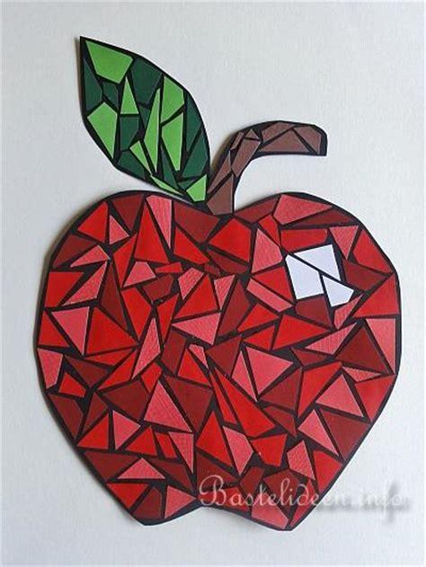 Vorlagen Für Mosaikbilder by Mosaik Apfel Kunstwerk E