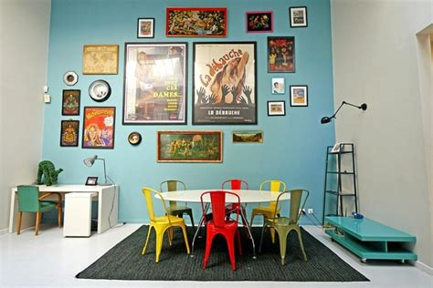 couleur peinture bureau idée peinture vive et 15 suggestions pour l