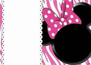 FREE blank invites | Minnie mouse party | Pinterest ...