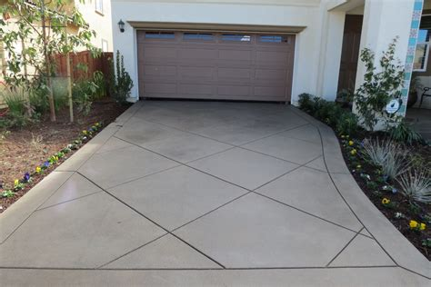 concrete driveway design ideas concrete driveway ideas landscape mediterranean with colored concrete diamond pattern