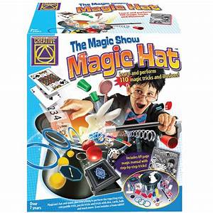 Creative Toys Magic Hat 110 Tricks Toys | Zavvi.com
