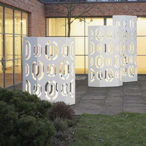 Moderner Sichtschutz Für Garten by Garten Im Quadrat Sichtschutz