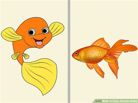 draw animals kids  steps  pictures wikihow