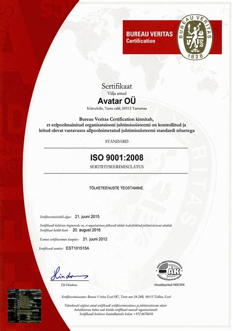 bureau certification avatar translation bureau certificates