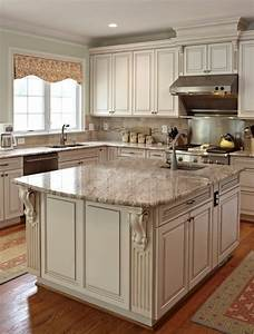 how to paint antique white kitchen cabinets step by step With kitchen colors with white cabinets with large reclaimed wood wall art
