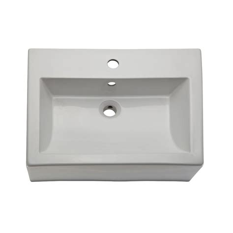 decolav white vessel sinks decolav classically redefined vessel sink in white 1417 1