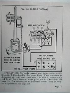 Lionel 153 Block Signal 1940