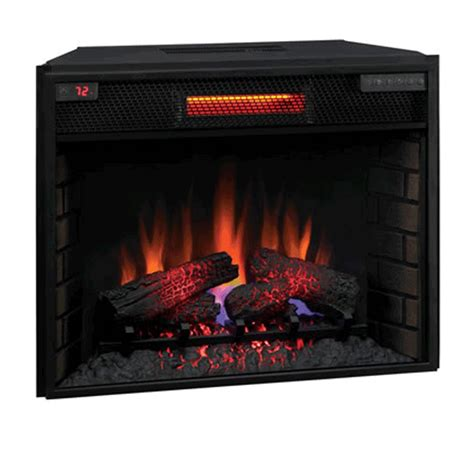 electric fireplace heater insert classic 28 inch electric fireplace insert 28ii300gra